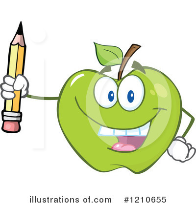 Pencil Clipart #1210655 by Hit Toon