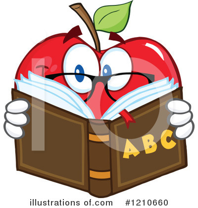 Reading Clipart #1210660 by Hit Toon