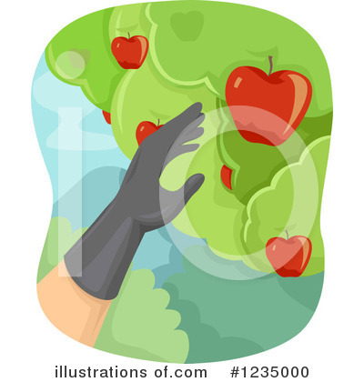 Apples Clipart #1235000 by BNP Design Studio