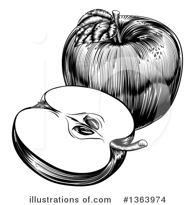 Produce Clipart #1363974 by AtStockIllustration