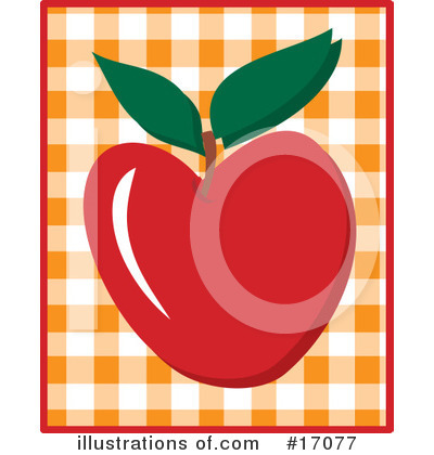Royalty-Free (RF) Apple Clipart Illustration by Maria Bell - Stock Sample #17077