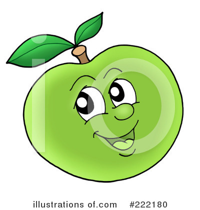 Apple Clipart #222180 by visekart