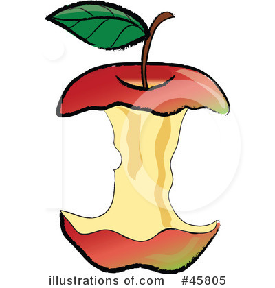 Red Apples Clipart #45805 by Pams Clipart