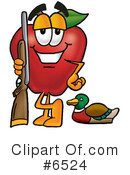 Apple Clipart #6524 by Toons4Biz