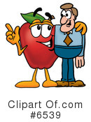 Apple Clipart #6539 by Toons4Biz