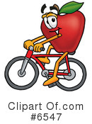 Apple Clipart #6547 by Toons4Biz