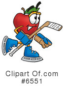Apple Clipart #6551 by Toons4Biz