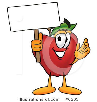 Apple Clipart #6563 by Toons4Biz