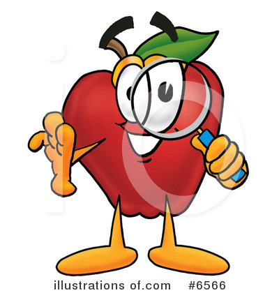Apple Clipart #6566 by Toons4Biz