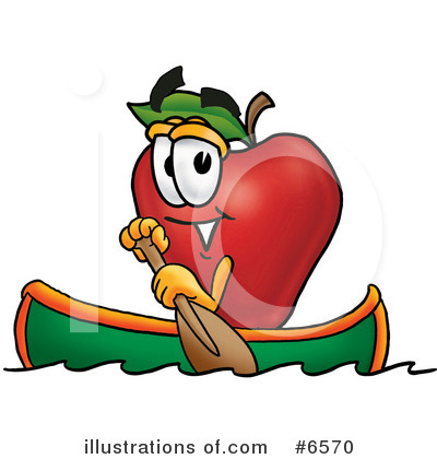 Royalty-Free (RF) Apple Clipart Illustration by Toons4Biz - Stock Sample #6570