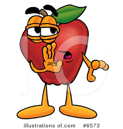 Apple Clipart #6573 by Toons4Biz