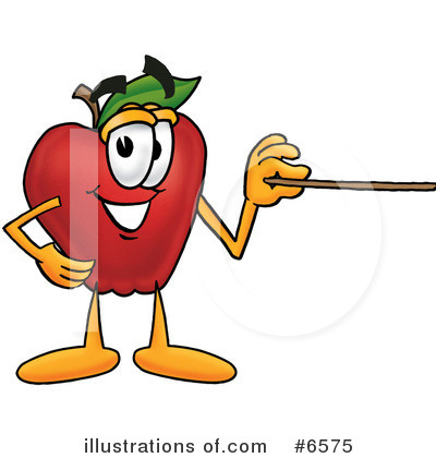 Apple Clipart #6575 by Toons4Biz