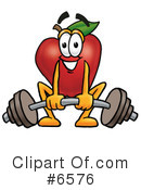 Apple Clipart #6576 by Toons4Biz