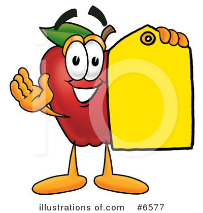 Apple Clipart #6577 by Toons4Biz