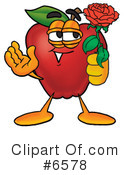 Apple Clipart #6578 by Toons4Biz