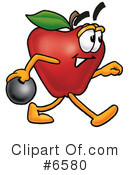 Apple Clipart #6580 by Toons4Biz