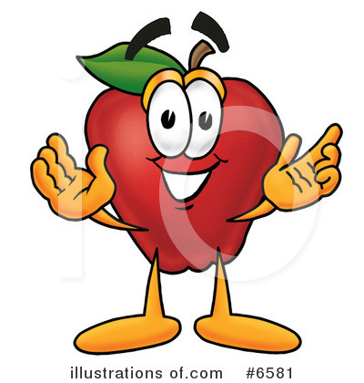Apple Clipart #6581 by Toons4Biz