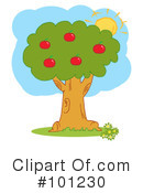 Royalty-Free (RF) Apple Tree Clipart Illustration #101230