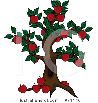 Tree Clipart #71140 by Pams Clipart