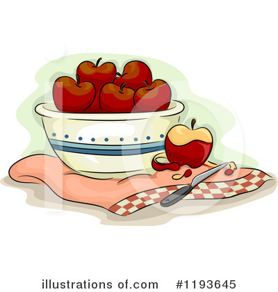 Produce Clipart #1193645 by BNP Design Studio