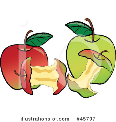Granny Smith Apples Clipart #45797 by Pams Clipart
