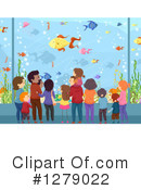 Aquarium Clipart #1279022 by BNP Design Studio