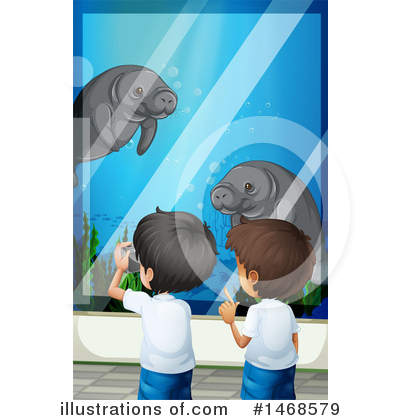 Manatee Clipart #1468579 by Graphics RF