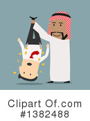 Royalty-Free (RF) Arabian Business Man Clipart Illustration #1382488