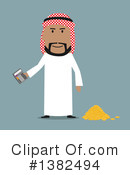 Royalty-Free (RF) Arabian Business Man Clipart Illustration #1382494