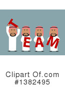 Royalty-Free (RF) Arabian Business Man Clipart Illustration #1382495