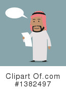 Royalty-Free (RF) Arabian Business Man Clipart Illustration #1382497
