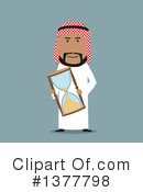 Arabian Businessman Clipart #1377798 by Vector Tradition SM