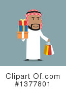 Arabian Businessman Clipart #1377801 by Vector Tradition SM