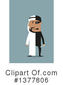Royalty-Free (RF) Arabian Businessman Clipart Illustration #1377806