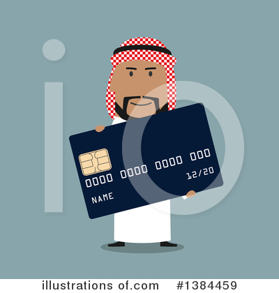Credit Card Clipart #1384459 by Vector Tradition SM