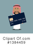 Royalty-Free (RF) Arabian Businessman Clipart Illustration #1384459