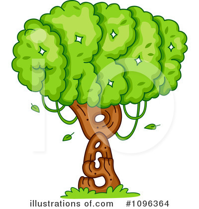 Tree Clipart #1096364 by BNP Design Studio