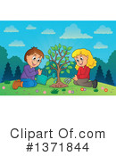 Royalty-Free (RF) Arbor Day Clipart Illustration #1371844