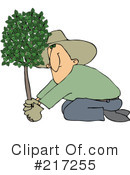 Royalty-Free (RF) Arbor Day Clipart Illustration #217255