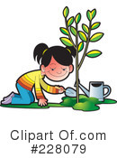 Royalty-Free (RF) Arbor Day Clipart Illustration #228079