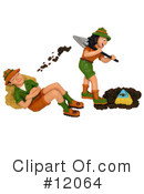 Royalty-Free (RF) Archaeology Clipart Illustration #12064
