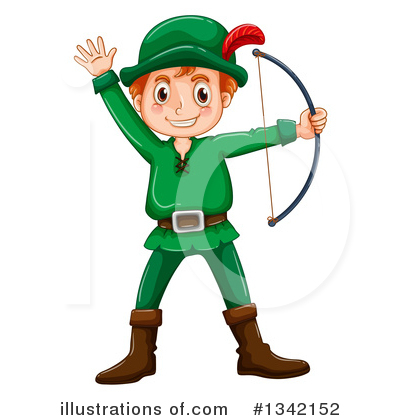 Archery Clipart #1342152 by Graphics RF
