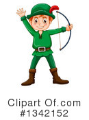 Archer Clipart #1342152 by Graphics RF