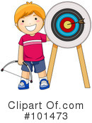 Royalty-Free (RF) Archery Clipart Illustration #101473