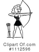 Royalty-Free (RF) Archery Clipart Illustration #1112596