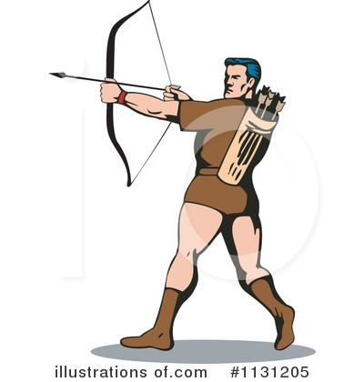 Archery Clipart #1131205 by patrimonio