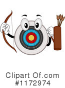 Royalty-Free (RF) Archery Clipart Illustration #1172974