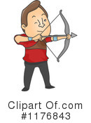 Royalty-Free (RF) Archery Clipart Illustration #1176843