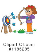 Archery Clipart #1186285 by visekart