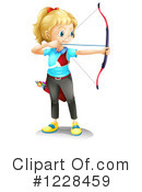 Archery Clipart #1228459 by Graphics RF
